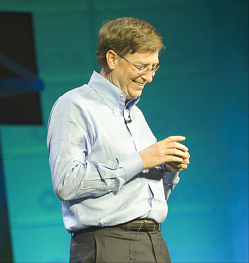 Bill Gates photo courtesy Domain Barnyard