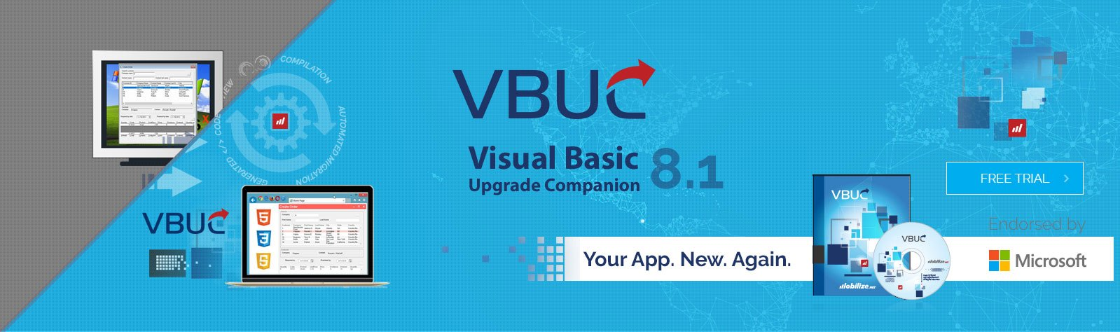 Free download new VBUC 8.0 by Mobilize @ Microsoft Connect(); 2017