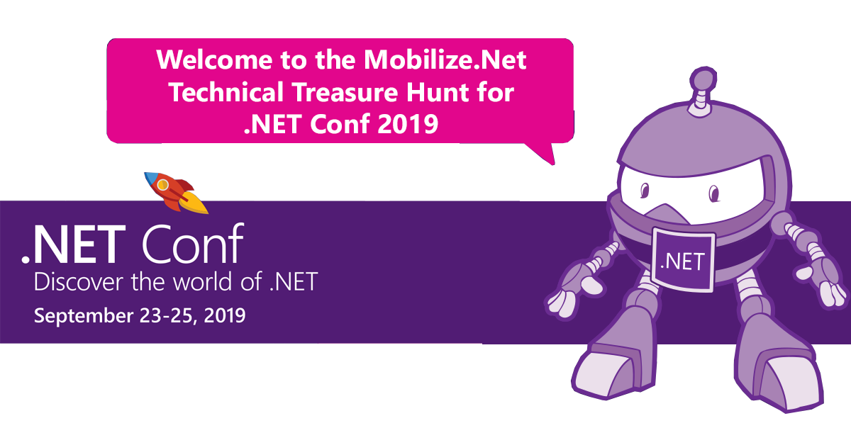 .NET Mobilize Treasure Hunt