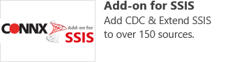 Add-on for SSIS - Add CDC & Extend SSIS to over 150 sources