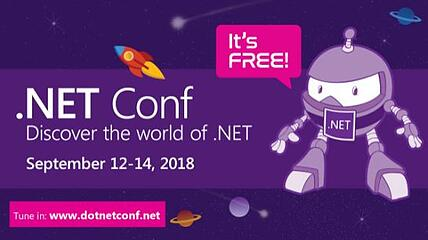 blog dotnetconf visual