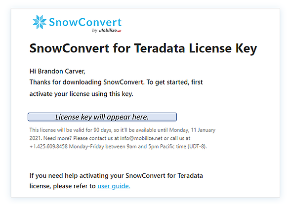 email_snowconvert_license