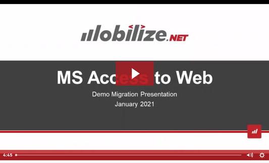 Microsoft Acccess to Web Demo