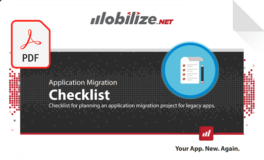 Application migration checklist