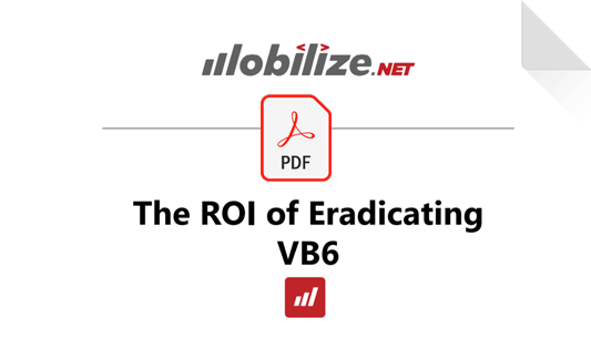 ROI of Eradicating VB6