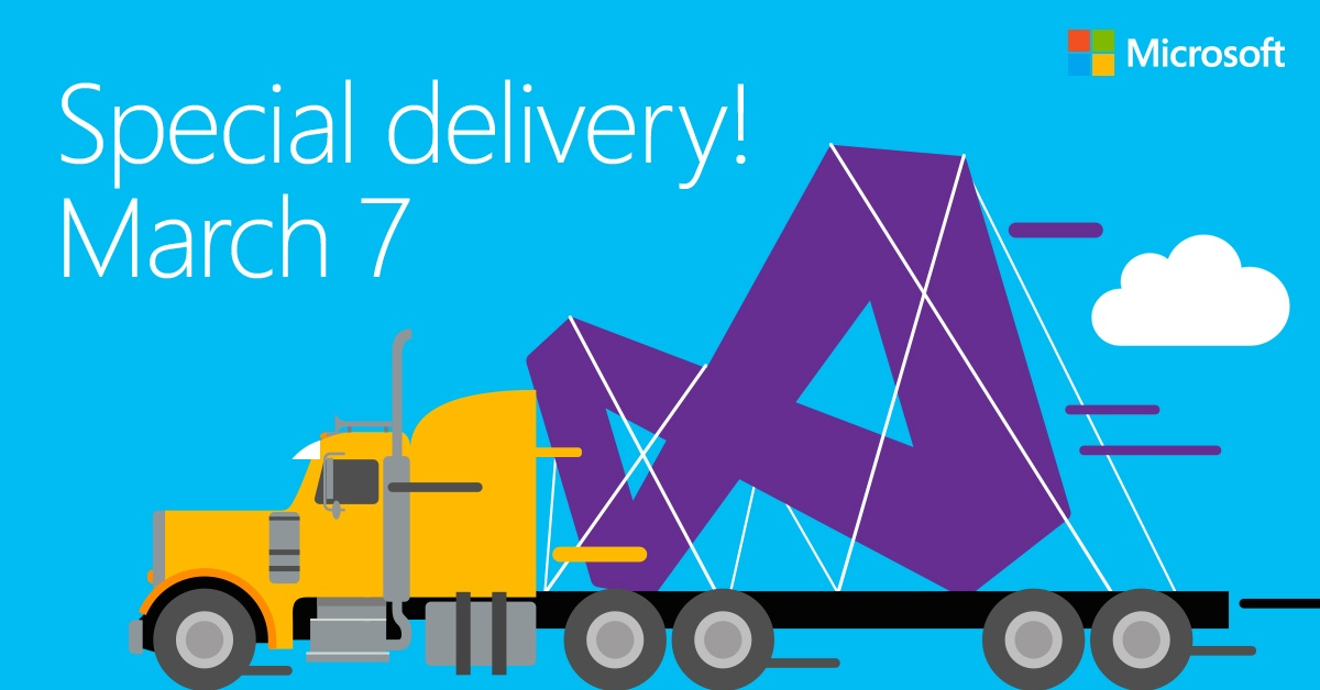 Save the date--it's Visual Studio 2017!