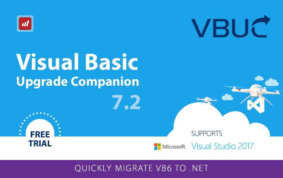 Visual Studio 2017 solutions with VBUC 7.2
