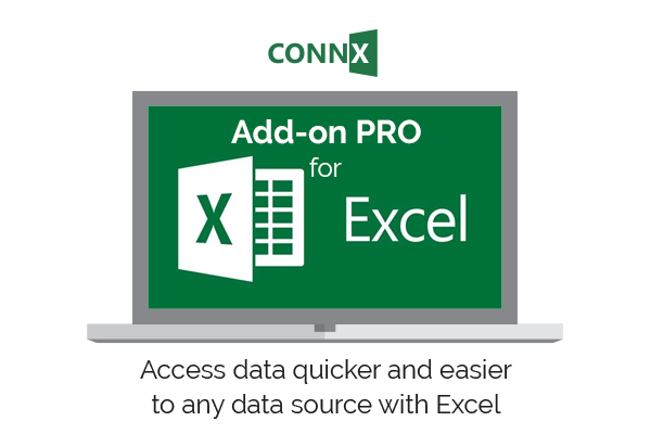 CONNX Add- on PRO Excel by Mobilize