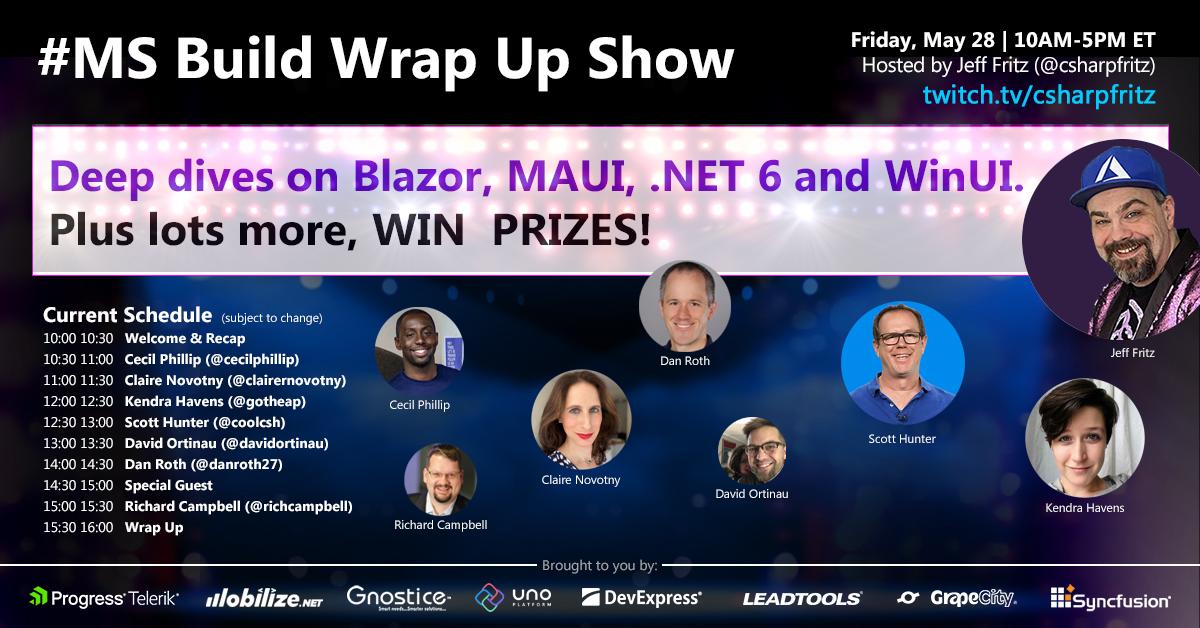 MSBuild Wrap Up Show | Mobilize.Net