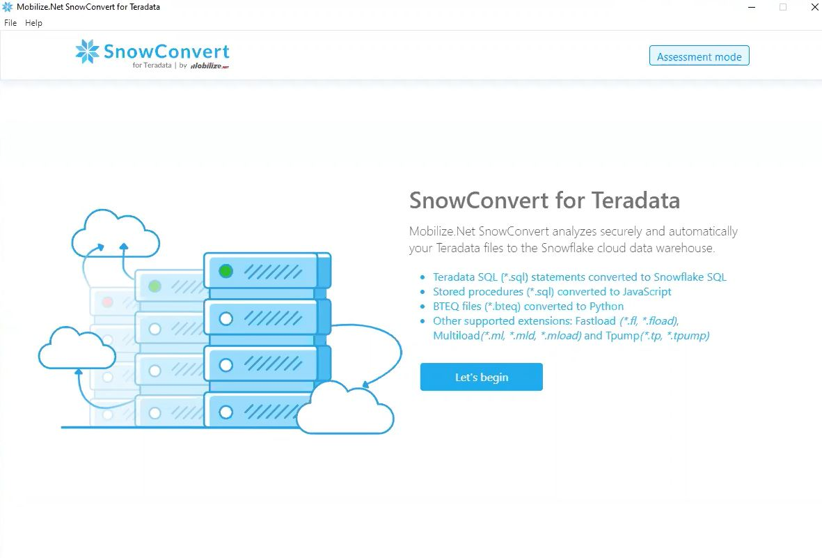 Mobilize.Net Releases Free Assessment Tool Beta for Database Migrations to Snowflake