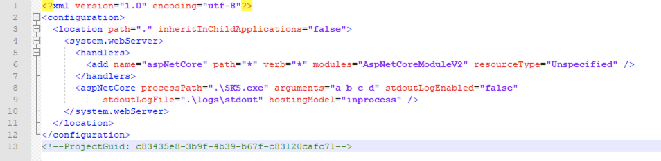 Screenshot of how to modify and add and arguments attribute