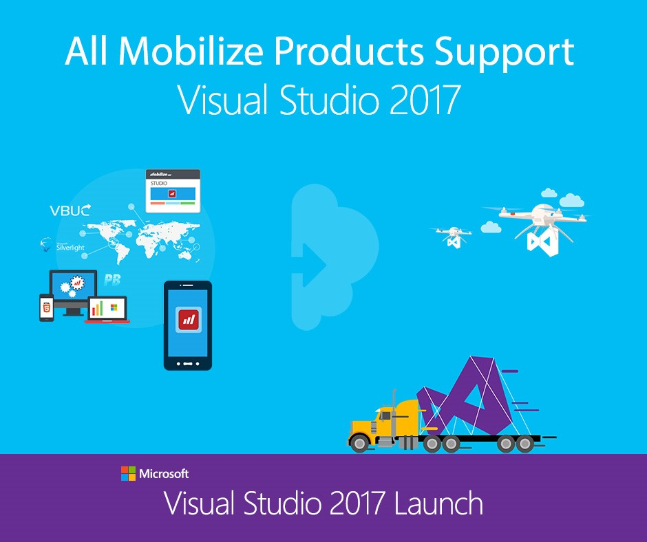Mobilize.Net Releases Updated Modernization Products for Microsoft Visual Studio 2017
